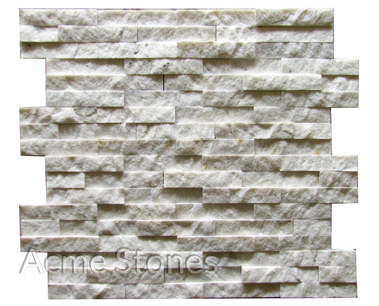 Stacking White Marble Split
