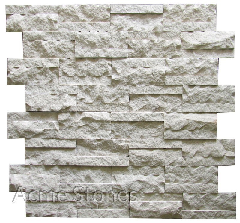 Stacking Mint Split Chiselled 2in1in