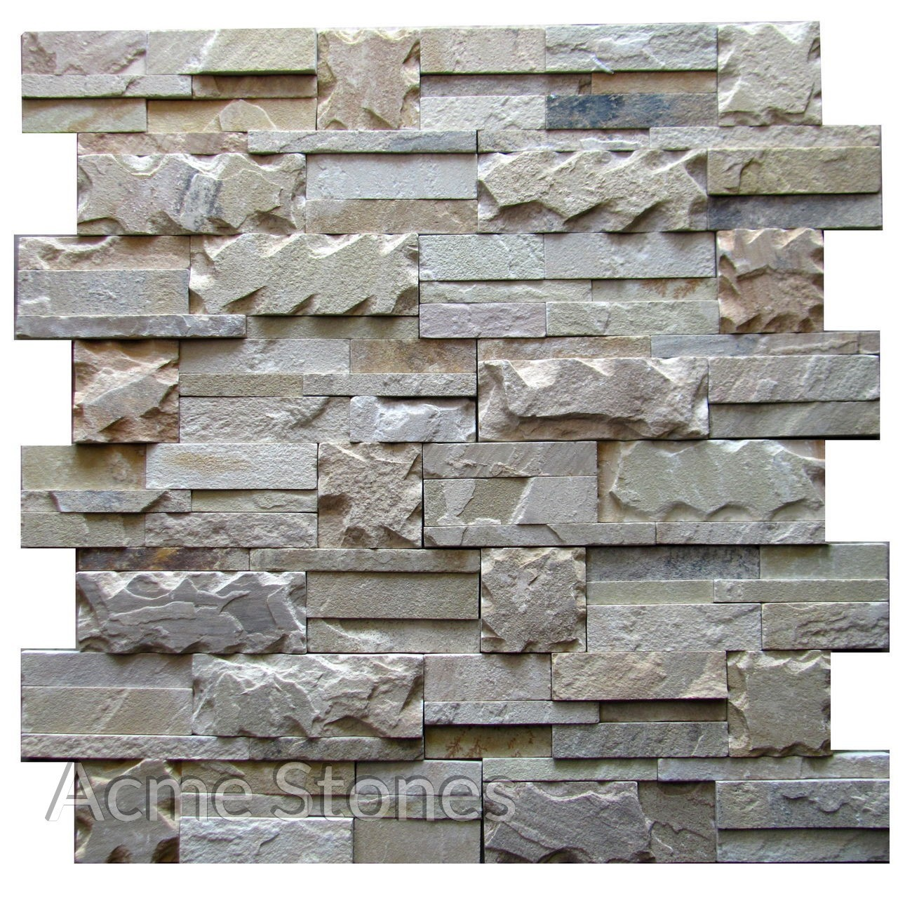 Stacking Mint Natural Chiselled 7x14in