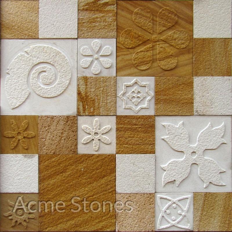 CNC Mint Teak Set Pattern