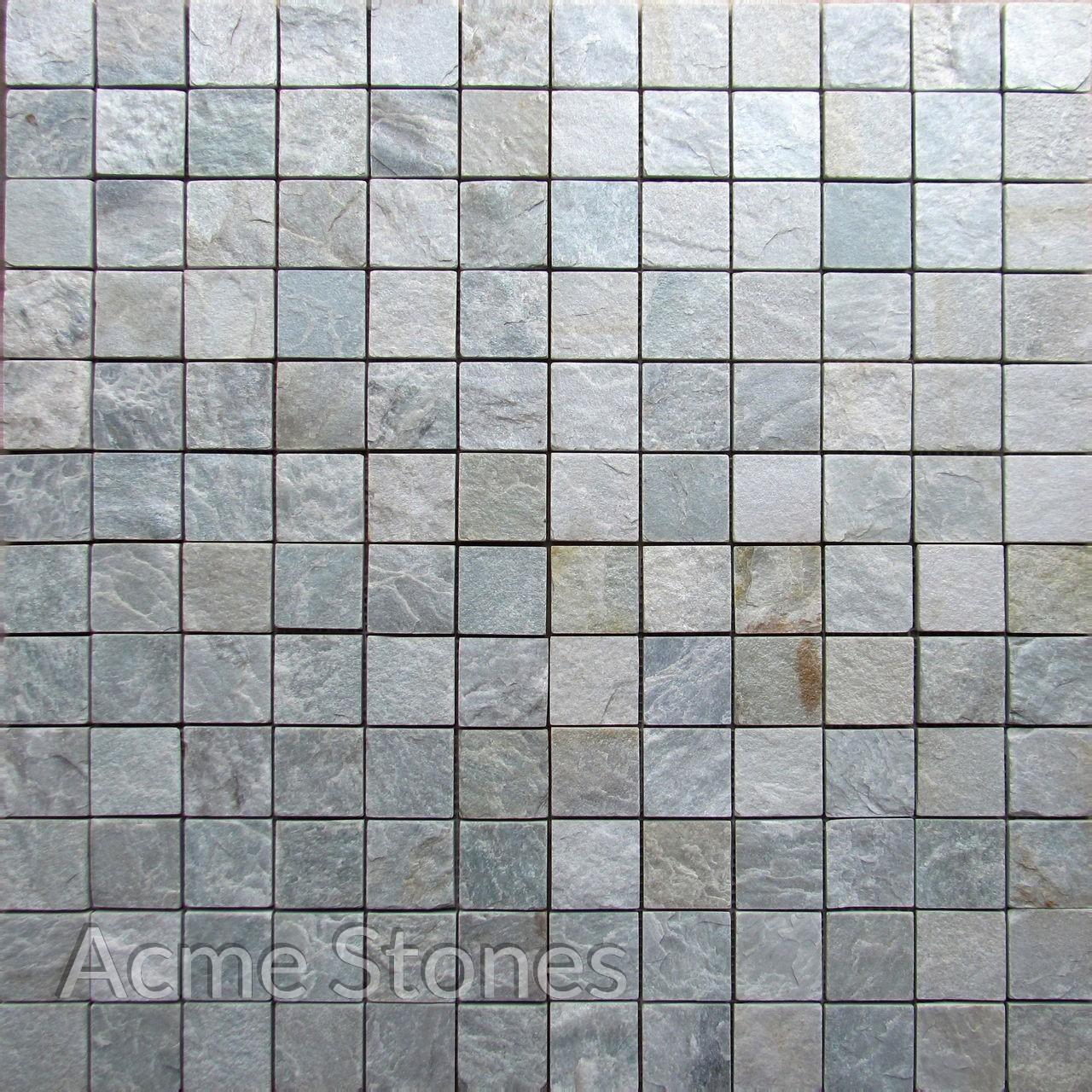 Regular Mosaic Himachal White 47x47mm