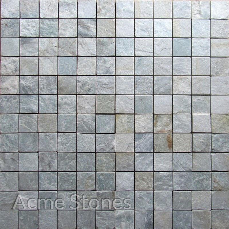 Regular Mosaic Himachal White 47x47mm