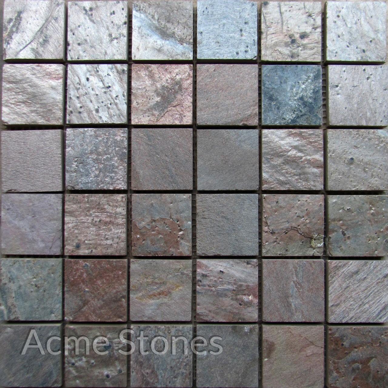Regular Mosaic Copper 47x47mm
