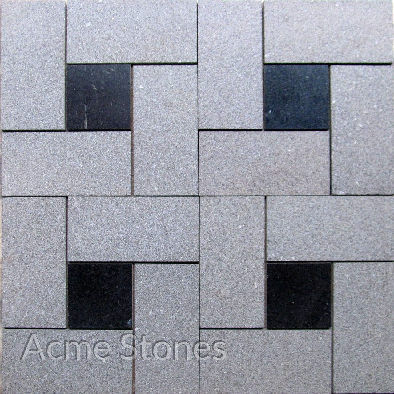 Pin Wheel 1 Black Granite