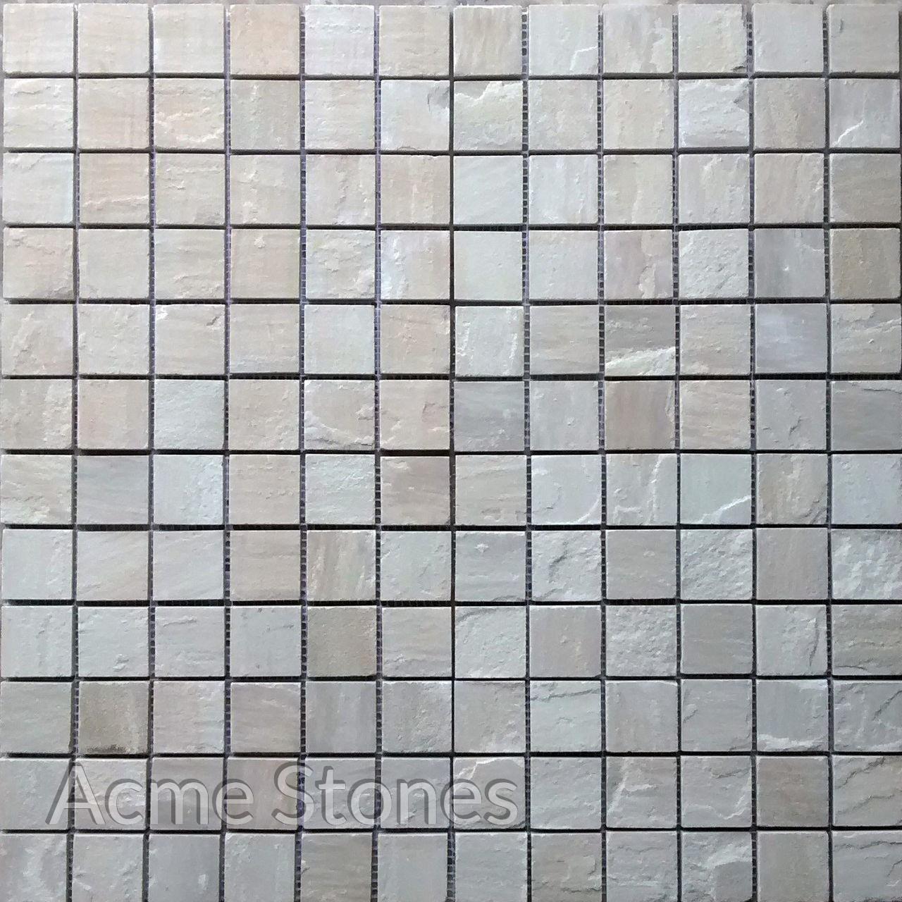 Regular Mosaic Mint Natural 47x47mm