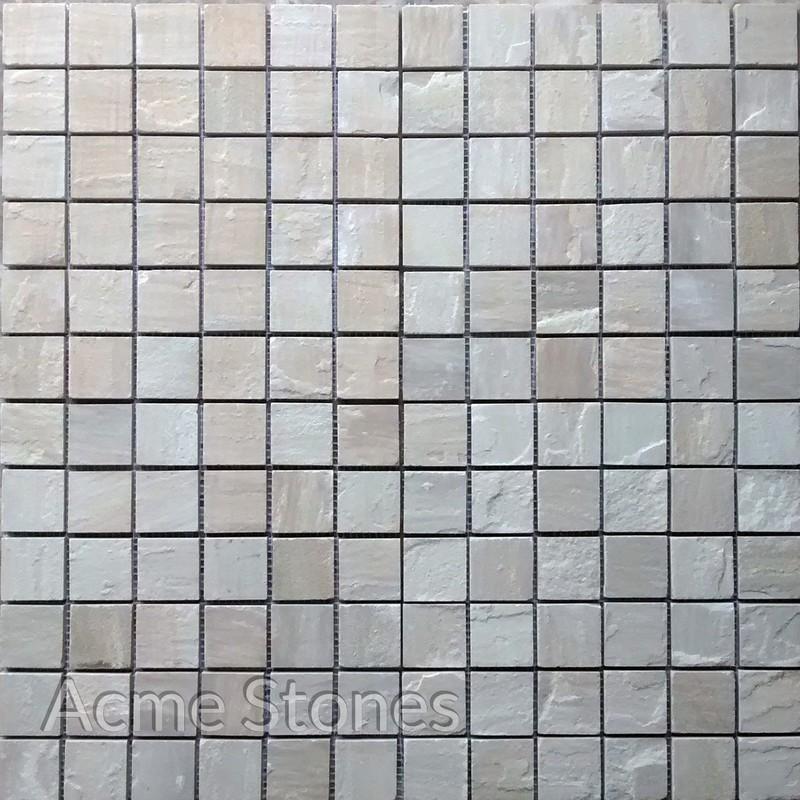 Regular Mosaic Mint Natural 47x47mm
