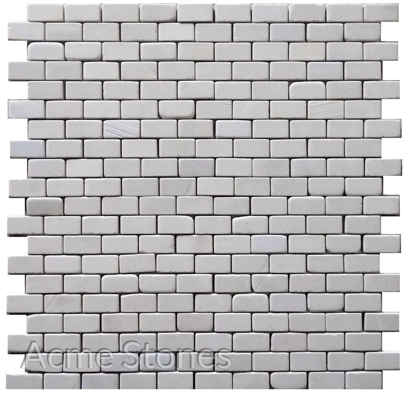 Brick Pattern Mint Sandstone Tumbled