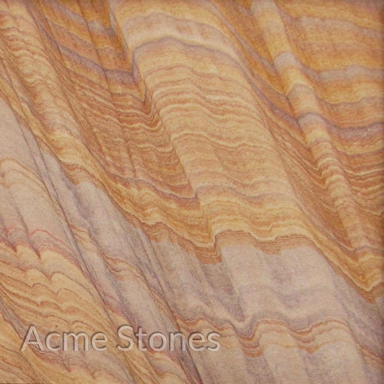 Sandstone Rainbow Slabs