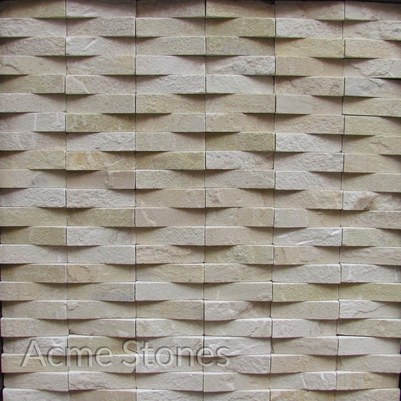 Line Pattern Mint Natural Taper