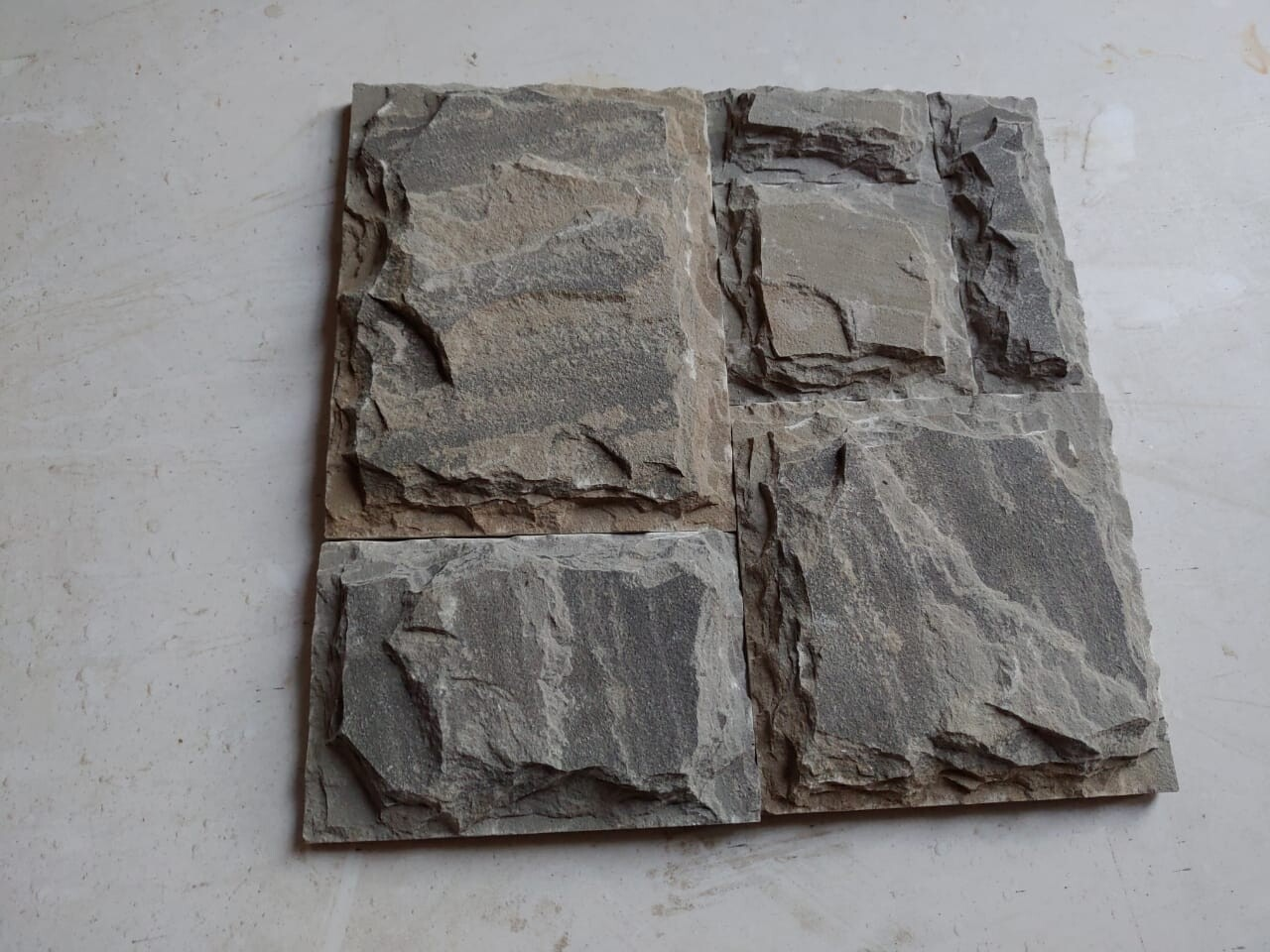 Set Pattern Sagar Black Chiselled