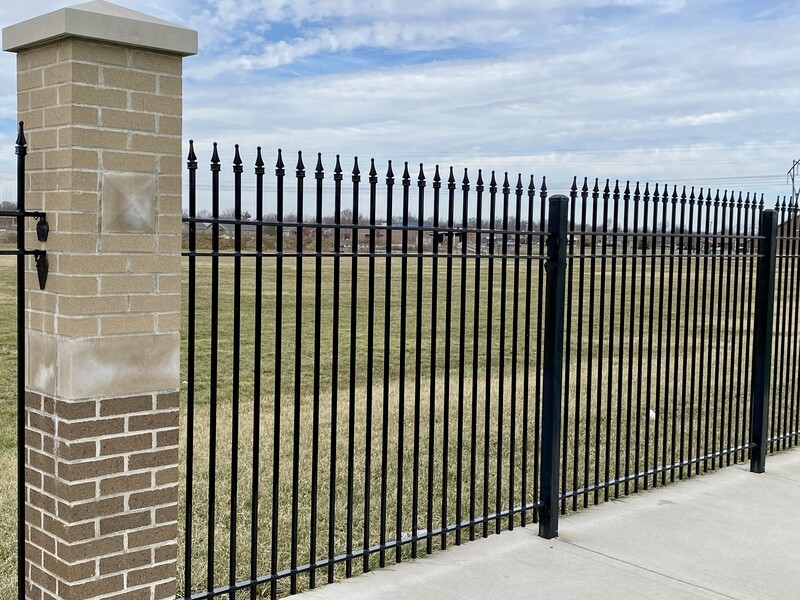 Level Spear Steel Fencing