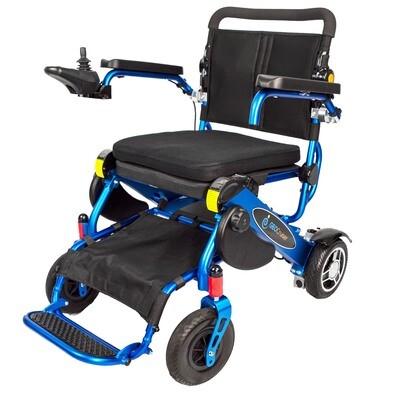 Geo Cruiser DX Lightweight Foldable Power Chair (Blue)