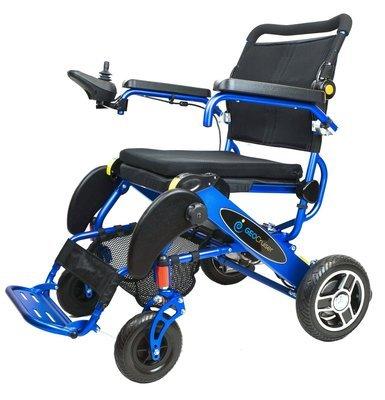 Geo Cruiser Elite EX  Lightweight Foldable Power Chair (Blue)