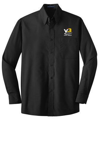 Port Authority® Long Sleeve Value Poplin Shirt W100