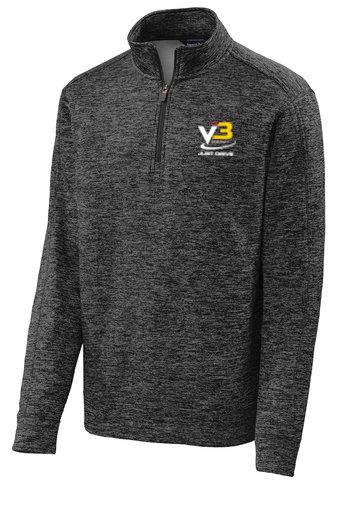 Sport-Tek® PosiCharge® Electric Heather Fleece 1/4-Zip Pullover ST226