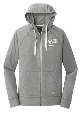 New Era® Sueded Cotton Full-Zip Hoodie - NEA122