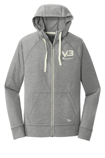New Era® Sueded Cotton Full-Zip Hoodie - NEA122