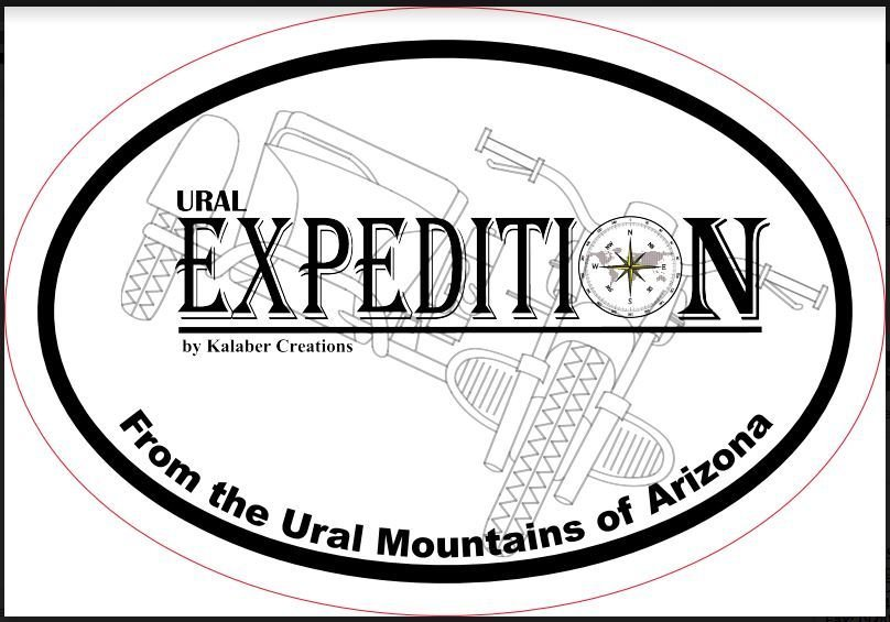 Ural Kalaber Expedition Sticker