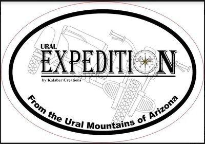 Ural Kalaber Expedition Sticker