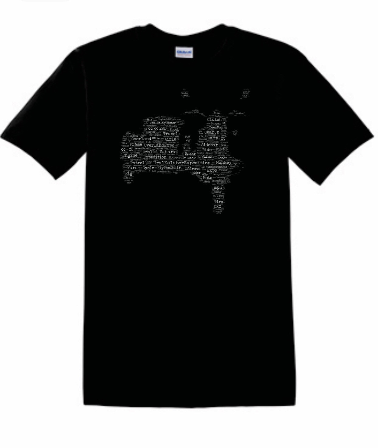 Sidecar Map T-Shirt