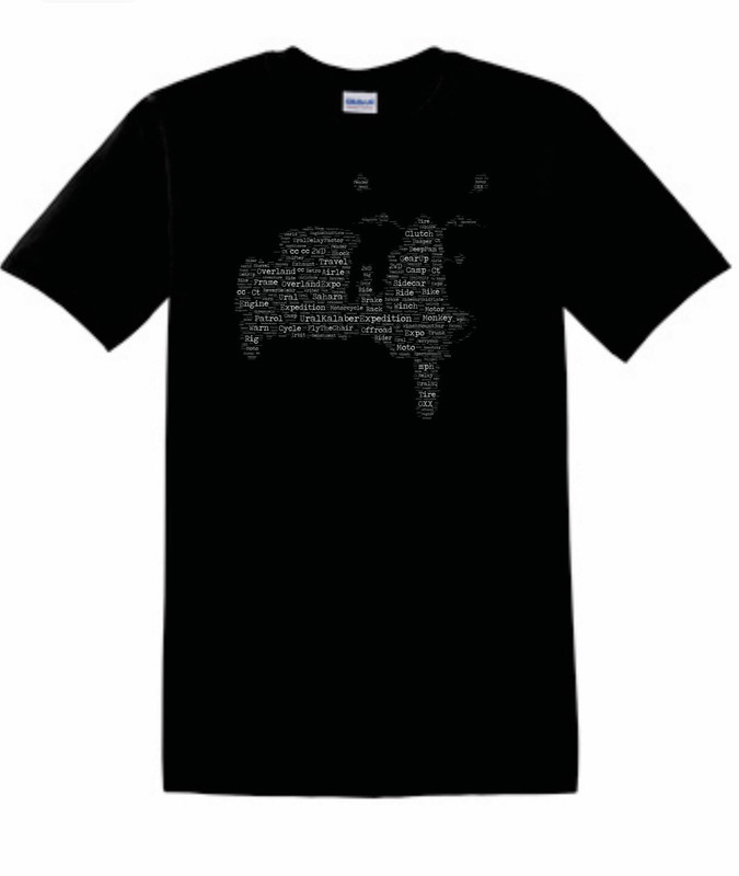 Sidecar Map T-Shirt