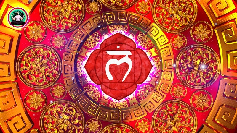 ROOT Chakra I AM Affirmations ❤️ Activate Root Chakra Healing Meditation Music