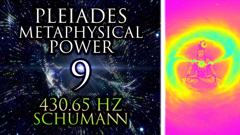 PLEIADES (135Hz + 468Hz + 792Hz) =9 ꩜ KARMA + CHANGE + AWARENESS ꩜ 430.65 Hz Shamanic Drums