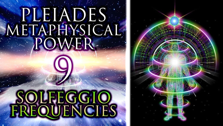 All 9 Pleiades Solfeggio Frequencies ꩜ Metaphysical Power Meditation ꩜ 430.65 Hz Shamanic Drums