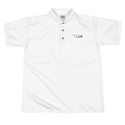 STEAM Embroidered Polo Shirt