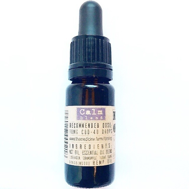Calm Blend MCT Tincture 167mg