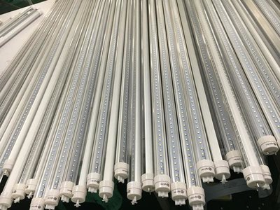 20 Pack, 8' LED Tube Lights 40 Watt