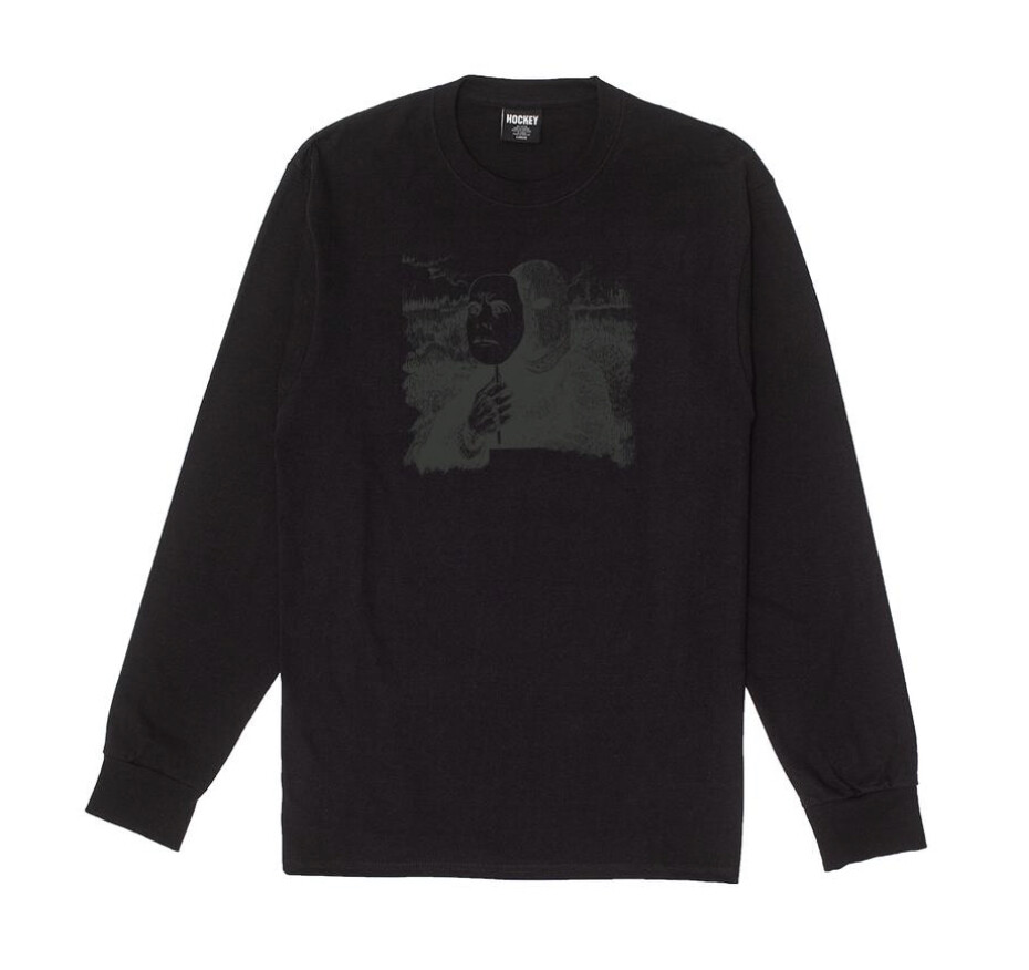 Longsleeve HOCKEY - Blend In - Black