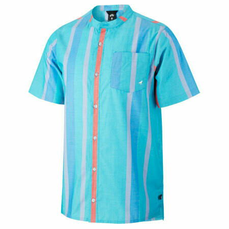 Nike Kevin Bradley ISO Short Sleeve Button-Up Shirt