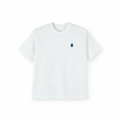 DANE FACE TEE - WHITE