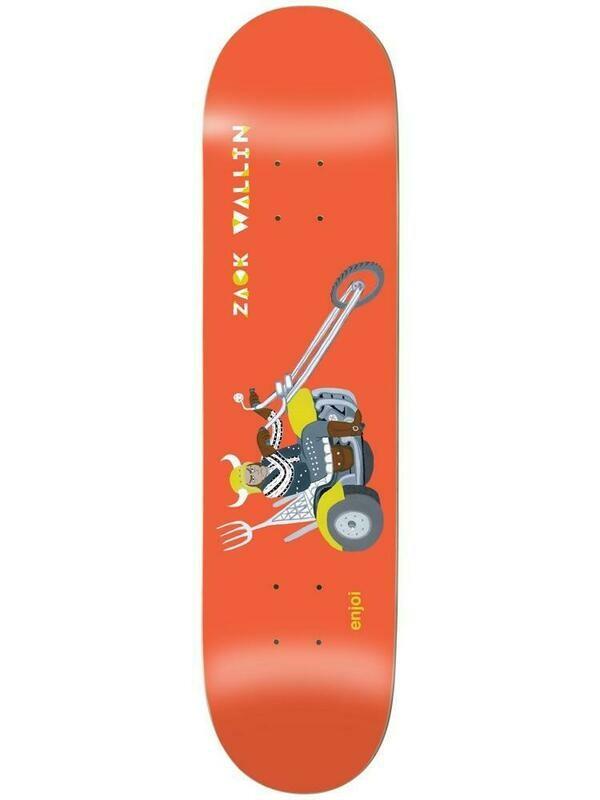 Enjoi Wallin Over Board Impact Light 8.25 Skateboard Deck
