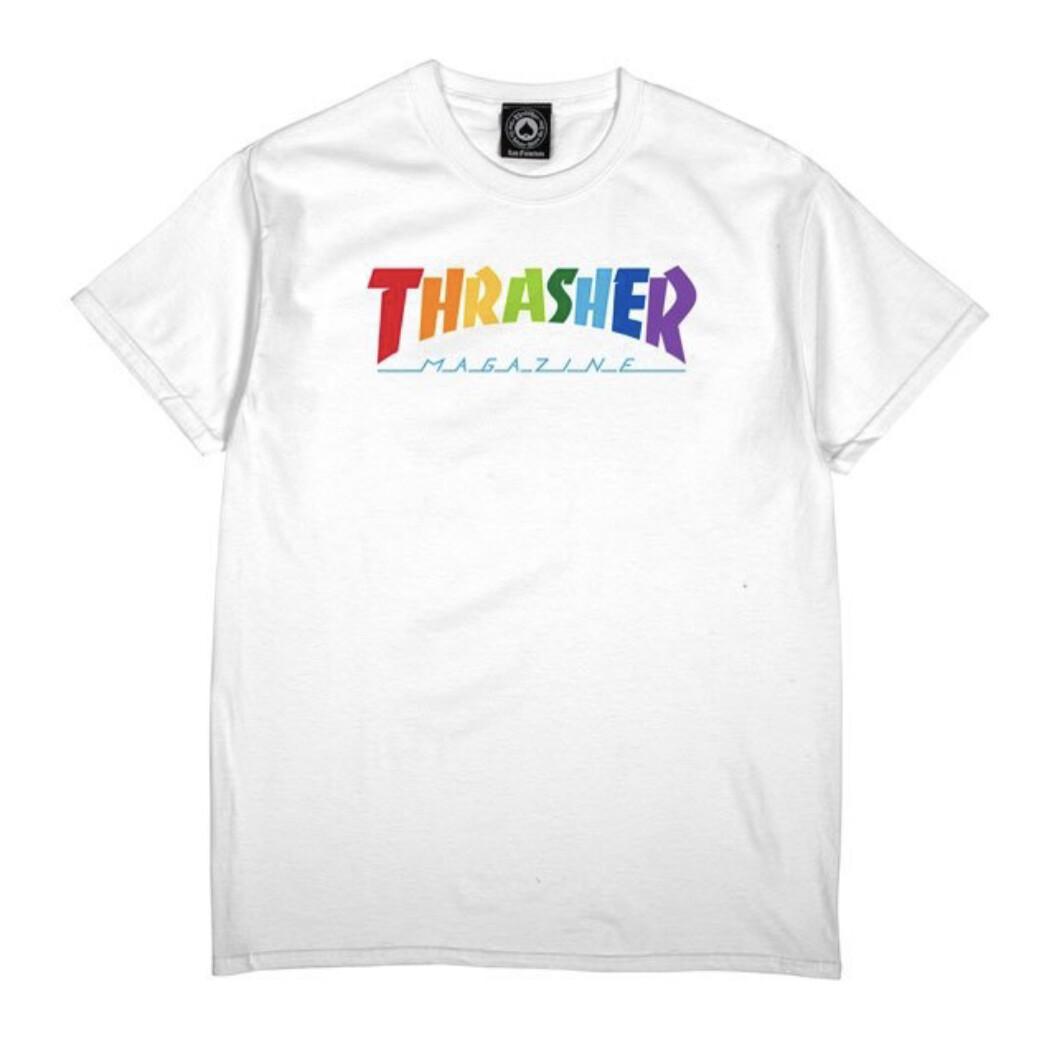 Rainbow Mag T-Shirt (White)