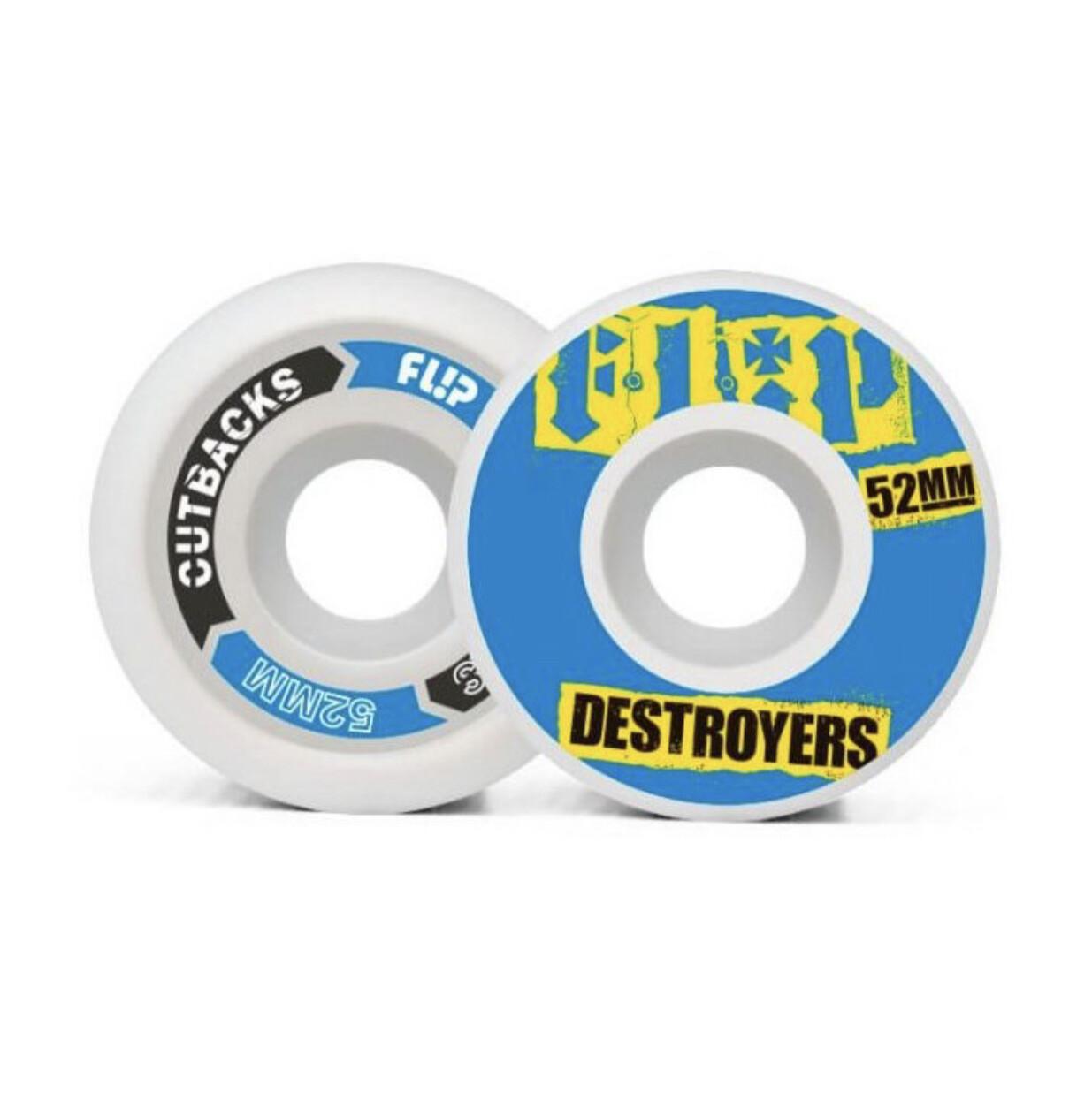 Flip Cutback Destroyers 52mm 99a Blue wheels pack