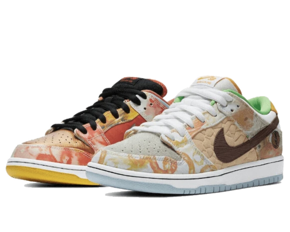 SB Dunk Low Street Hawker