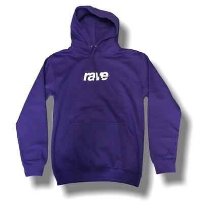 Rave puff logo purple