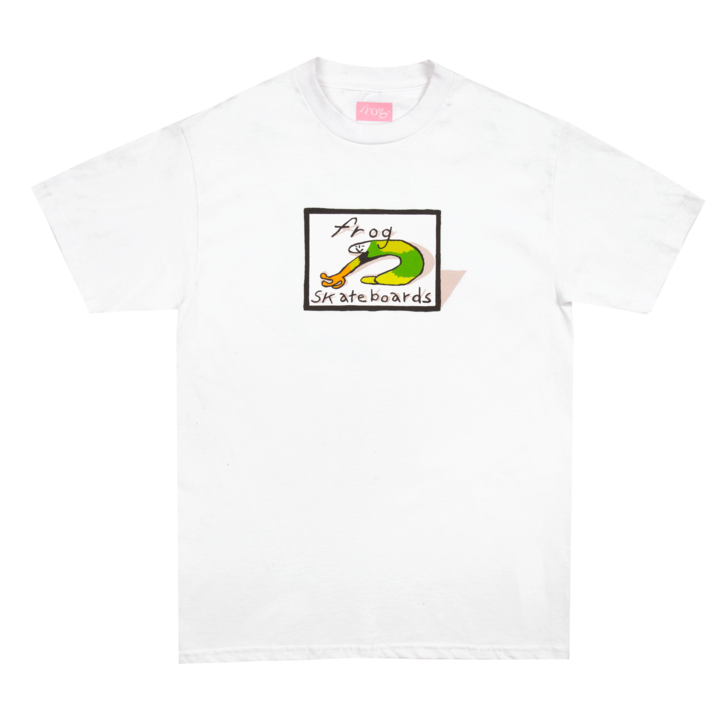 Classic Frog Logo White
