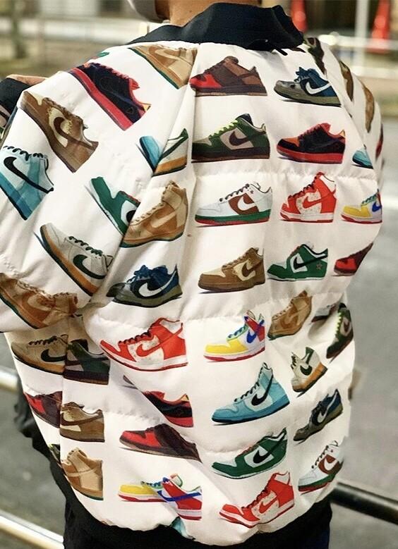 Nike sb dunk jacket iso