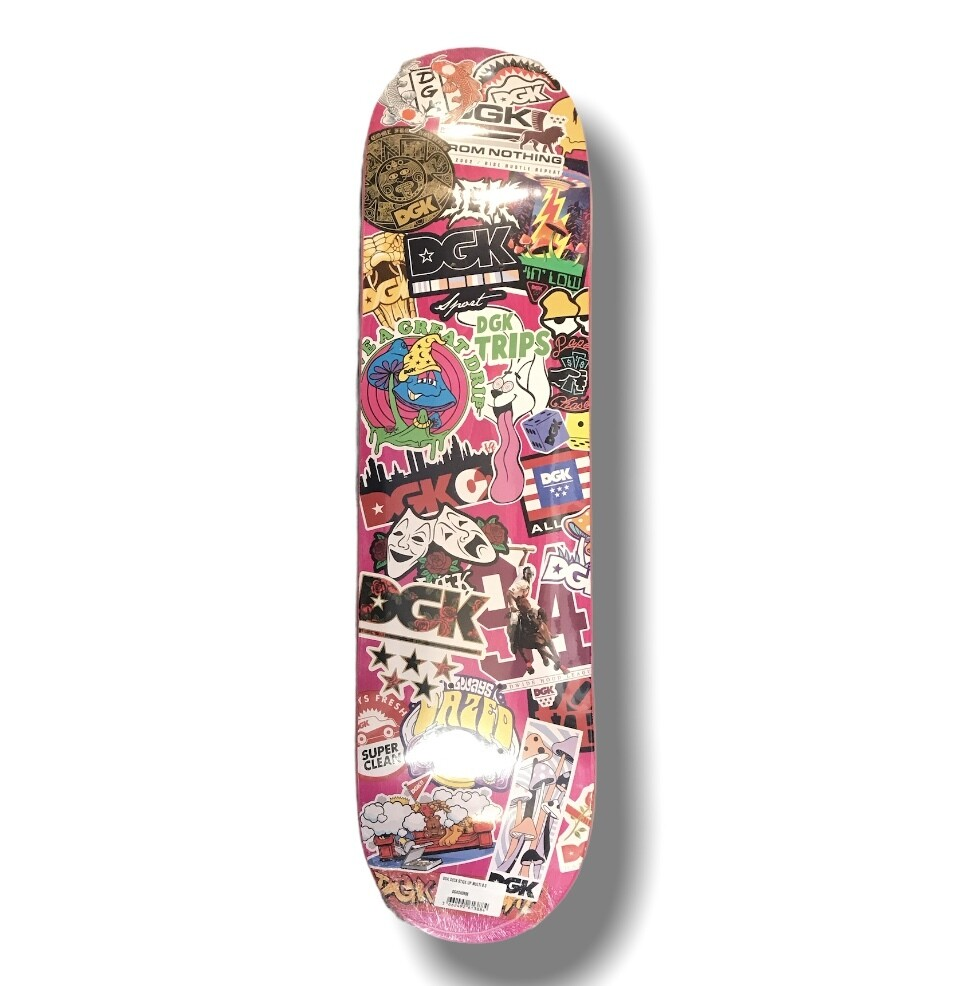 DGK deck stick pu multi 8,0