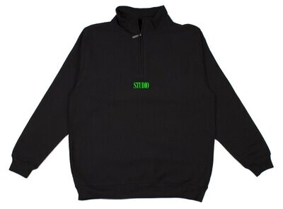 STUDIO Classic - 1/4 Zip - Black