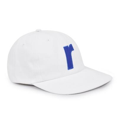 RAVE CAP R LOGO WHITE