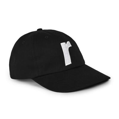 RAVE CAP R LOGO BLACK