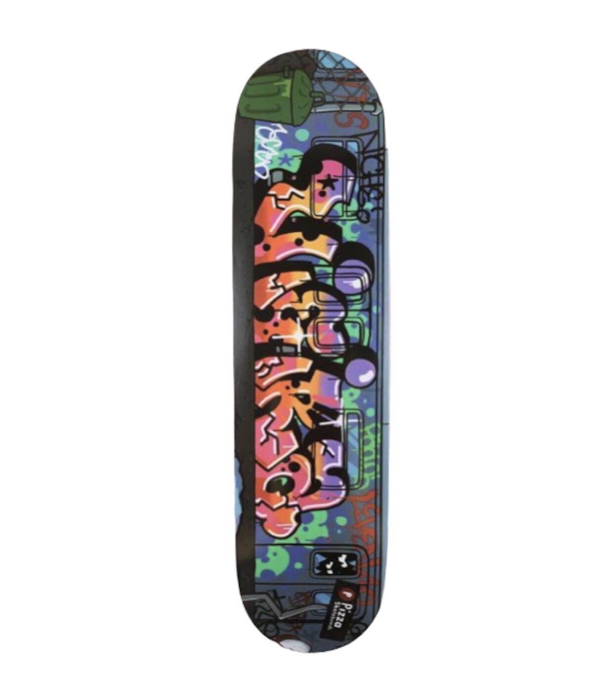 """PIZZA Jesse Graffiti Deck 8.25"""""""