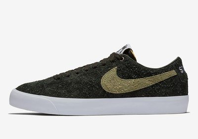 The Stussy x Nike SB Blazer Low