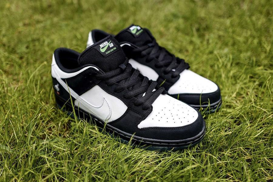 NIKE SB DUNK LOW PRO OG QS BLACK/WHITE-GREEN GUSTO