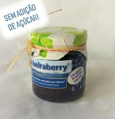 COMPOTA DE MIRTILO BEIRABERRY ADOÇADA COM STEVIA (250g)