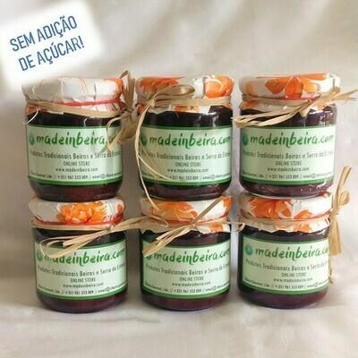 Pack de Compota de Cereja adoçada com Stevia (6 unidades - 250g)